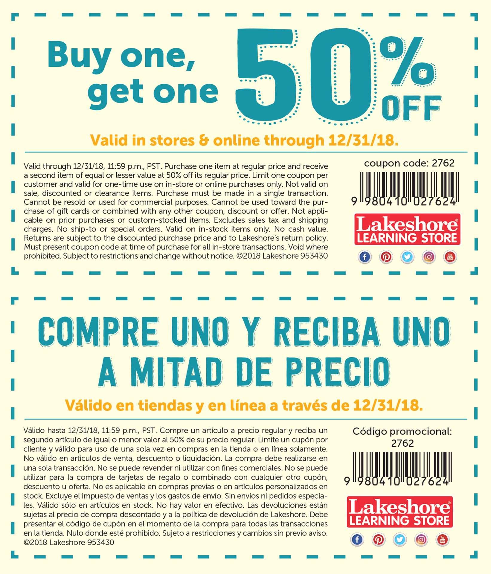 Discount first store coupons