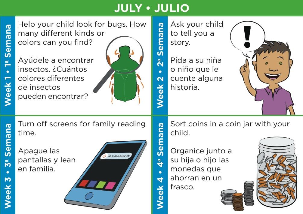 Parenting Activities Calendar Sneak Peek First 5 Los Angeles