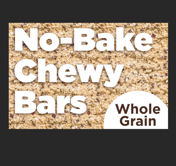 No-Bake Whole Grain Chewy Bars