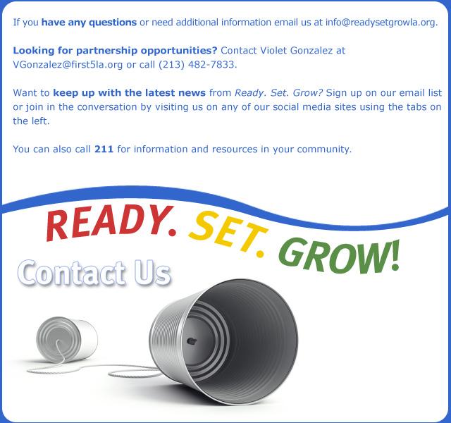 Ready. Set. Contact