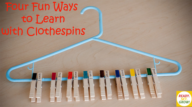 Game Clothespins