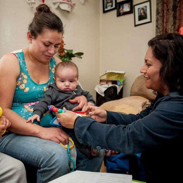 How First 5 LA Ensured Home Visits Continue Virtually, Yet Tangibly