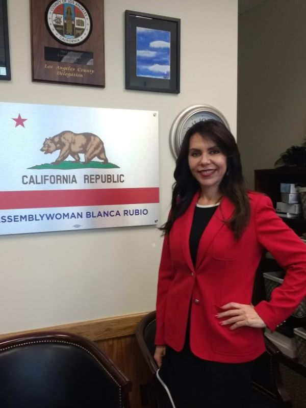 Assemblywoman Blanca Rubio: Her Drive to Help Children Is Fueled by Her Family's Struggles and Sacrifices