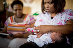 Good Beginnings 16: Infant Massage Aids in Comforting, Bonding, and Development in Babies