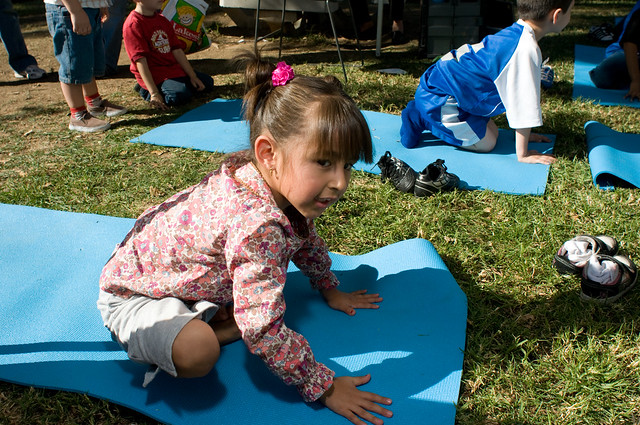 First 5 LA's Five Yoga Poses for the Whole Family