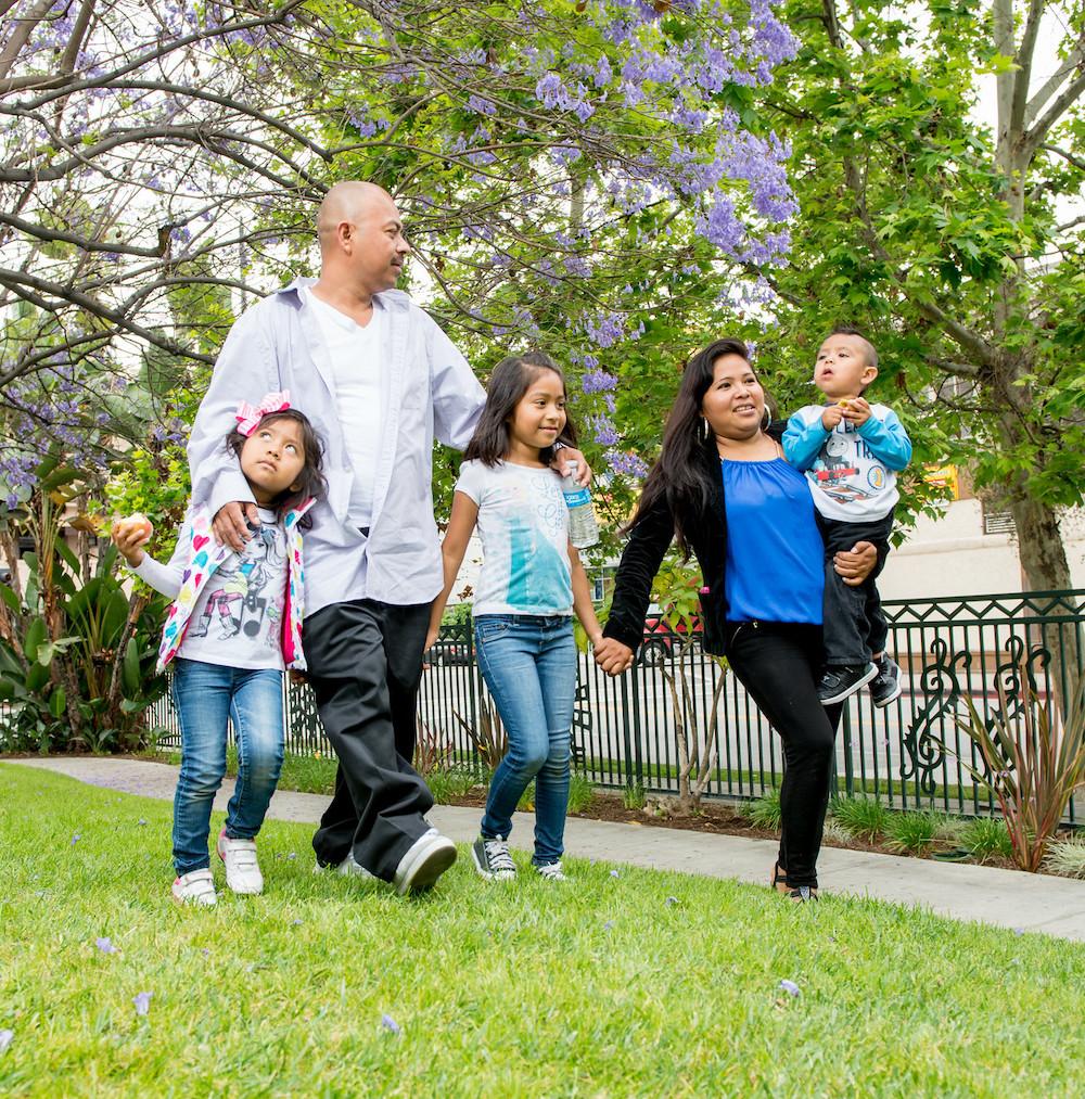 우리 업무의 핵심: 어린 자녀가 있는 가족